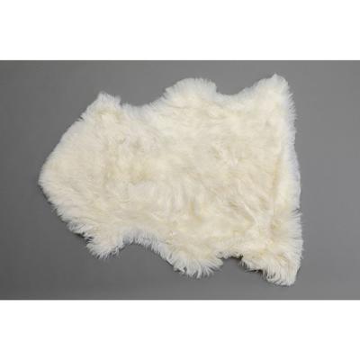 Piel cordero Heidi blanco 85x60cm