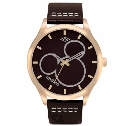 Reloj Dorado/Café - Umb-Mm02-3