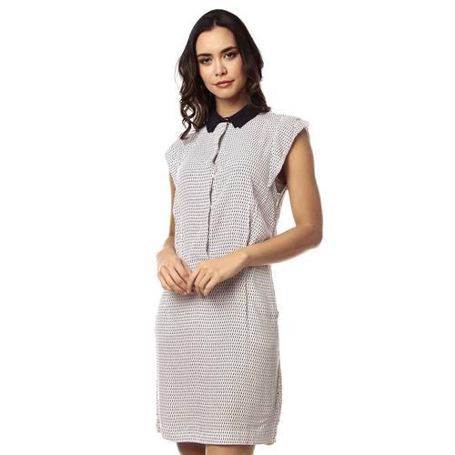 Vestido Color Siete para Mujer - Beige