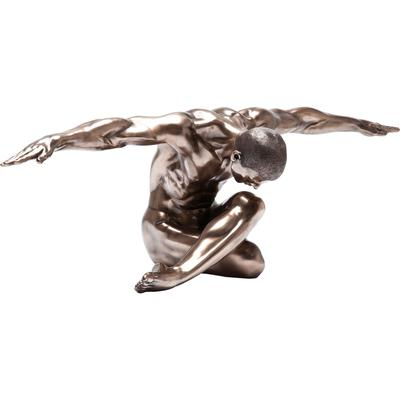 Figura decorativa Nude Man Bow 137cm