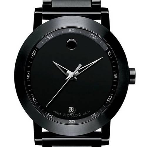 Reloj análogo negro-negro 6615
