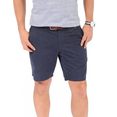 Bermuda Essex Color Siete para Hombre - Azul