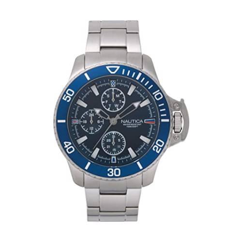 Reloj bayside Azul - Plateado