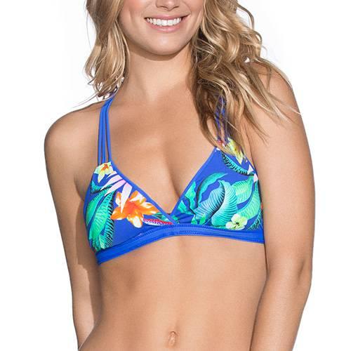 Vestido De Baño - Top Netpune Blue Pixel