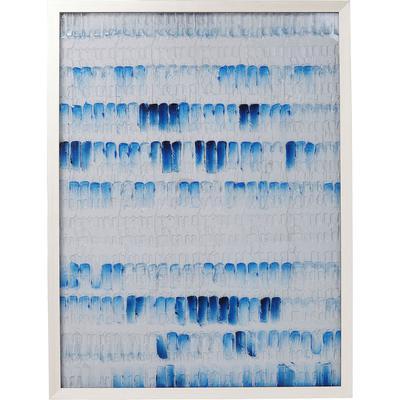 Cuadro Strike azul 125x95cm