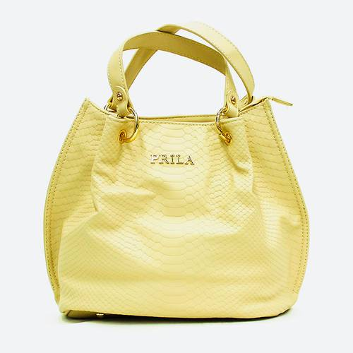 Bolso Mate Textura Amarillo - Noha