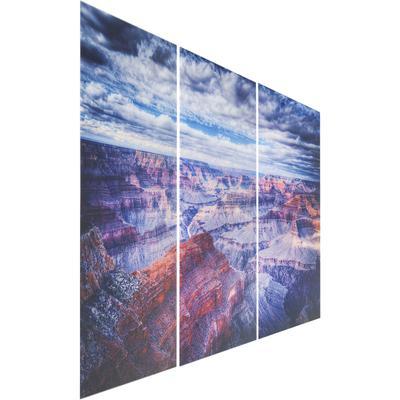 Cuadro cristal Triptychon Grand Canyon160x240cm (3