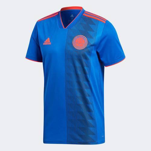 Camiseta Fcf A Jsy Boblue/Solred Azul Cw1562 Azul - Cw1562 - Adidas