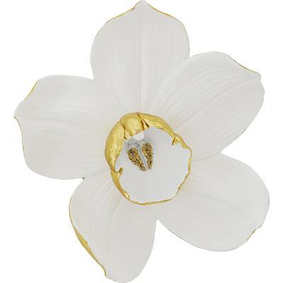 Decoración pared Orchid blanco 44cm