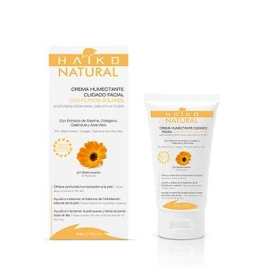 Crema Humectante Facial Con Filtros Solares Haiko Natural 50g