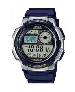 Reloj Análogo Negro-Azul -2Av - Casio