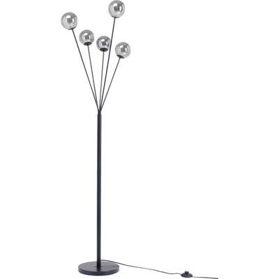 Lámpara pie Talea negro 156cm