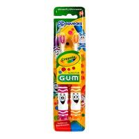 Butler Gum Crayola Cepillos de dientes Pip Squeaks 2 x 1