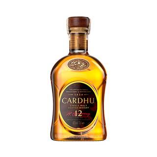 Whisky Malta Cardhu 12Años 700ml