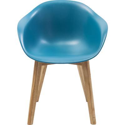 Silla reposabrazos Forum Scandi Object azul