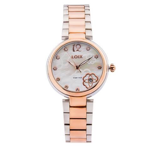 Reloj Gris - Rosa - L1153-03