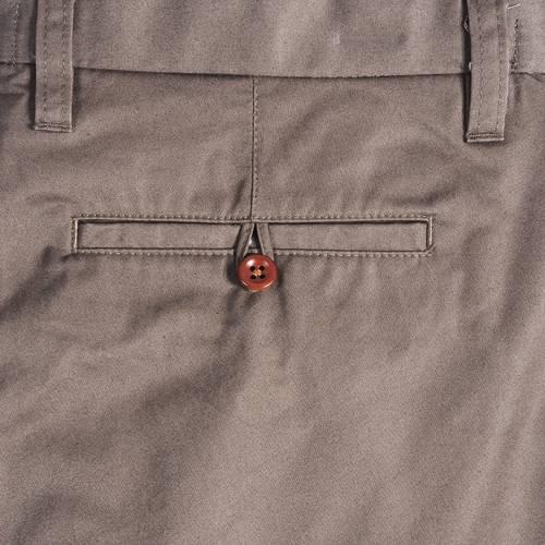 Pantalón Essex Color Siete Para Hombre  - Cafe