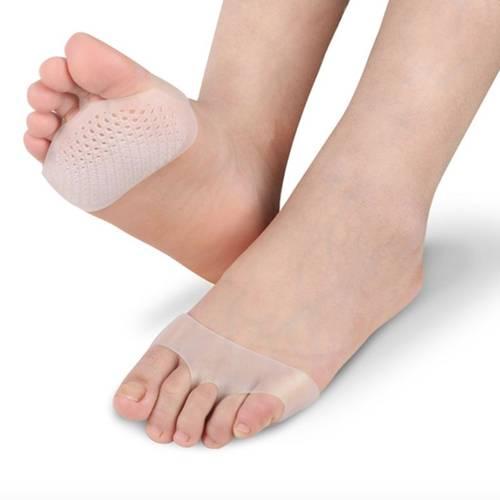 2 pares Almohadilla en silicona para descanso pies
