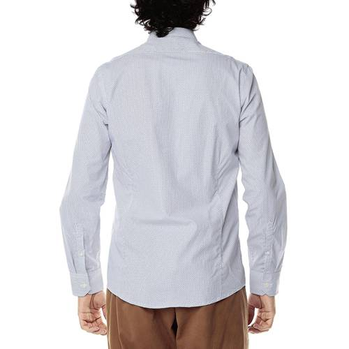 Camisa Manga Larga Jones Para Hombre Color Siete - Blanco