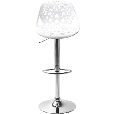 Taburete bar  Ornament blanco