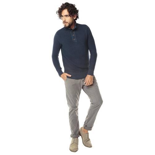 Pantalon Cavalier Color Siete para Hombre-Gris