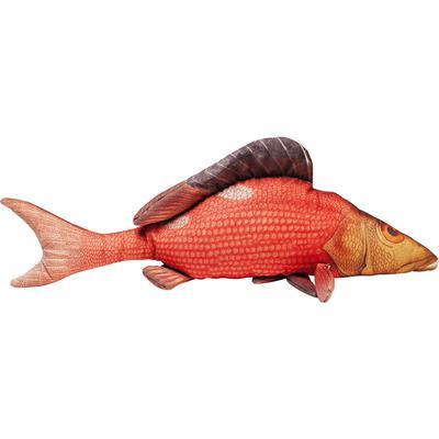 Cojín Shape Fish rojo 44x95cm