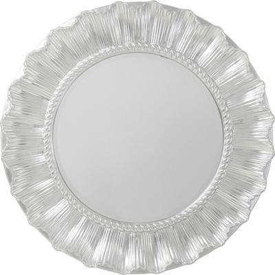 Espejo pared Sun Ray plata Ø84cm
