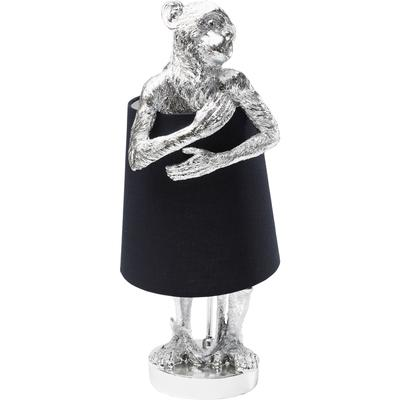 Lámpara mesa Animal Monkey plata negro