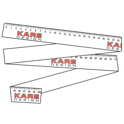 KARE Metro papel (100 cm) 30 set con 50 pcs)