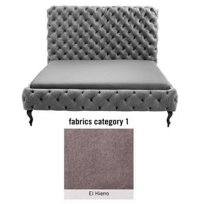 Cama (Alta) Desire, tela 1 - El Hierro, (135x197x228cms), 180x200cm (no incluye colchón)