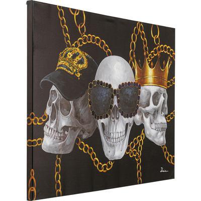 Cuadro lienzo Skull Gang 90x120