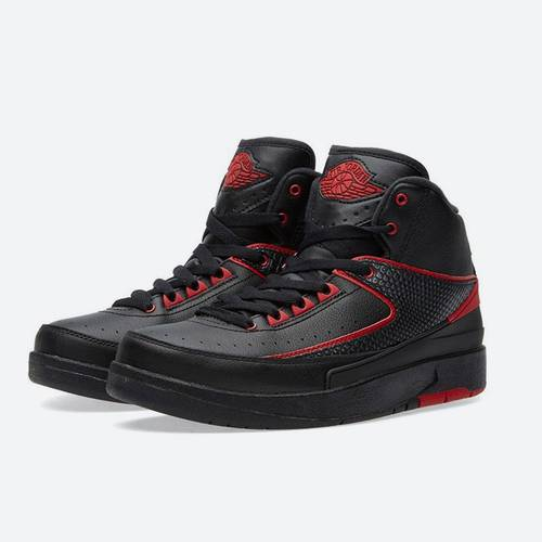 Zapatillas Air Jordan 2 Retro Bg Negro