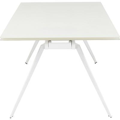 Mesa extensible Amsterdam blanco 200(45+45)x100cm