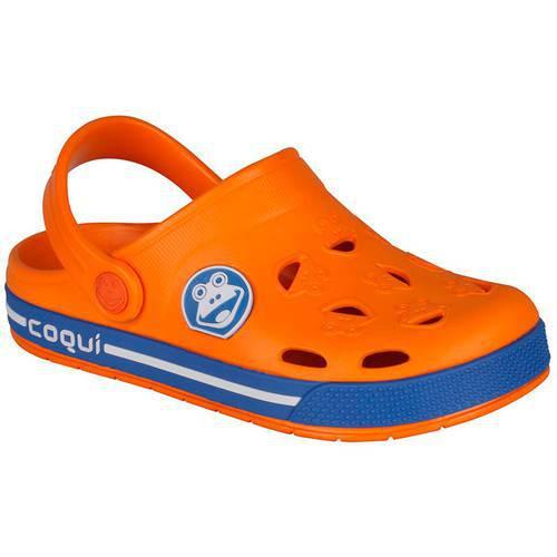 Zapatos Froggy Orange/Blue