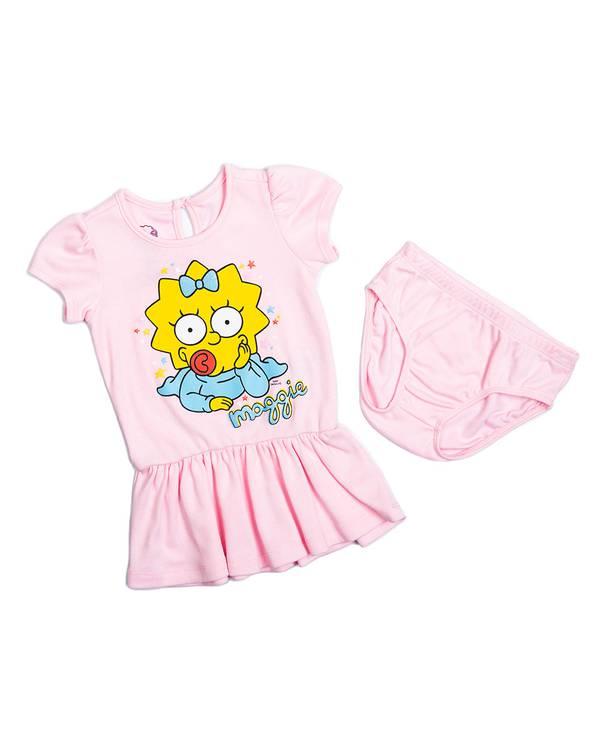 Vestido Bebita Simpson