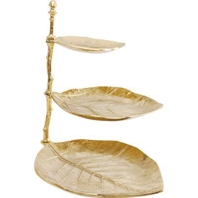 Escalera decorativa Leaf oro