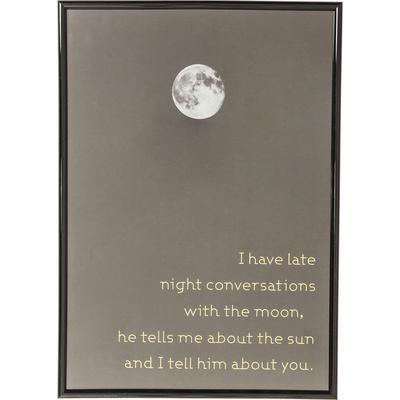 Cuadro Moon 41x29cm