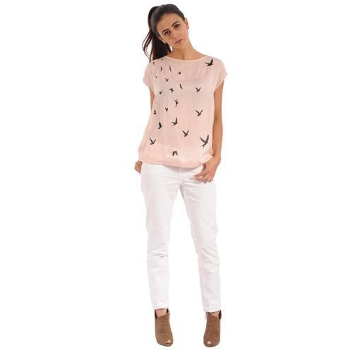 Blusa Felicia Color Siete Para Mujer - Rosado