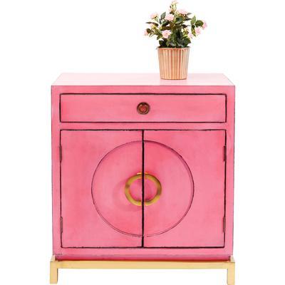 Cómoda Disk rosa