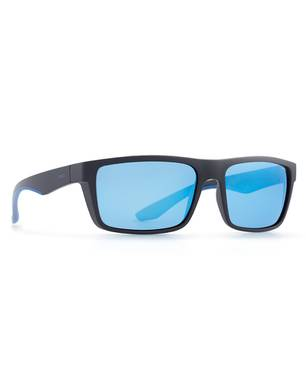 Sunglasses A2802A Matt Black-Blue - Invu