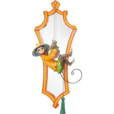 Espejo Monkey naranja 53x21cm