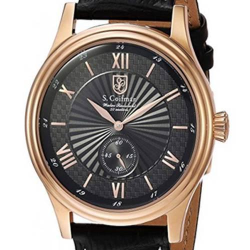 Reloj análogo negro-negro 0294