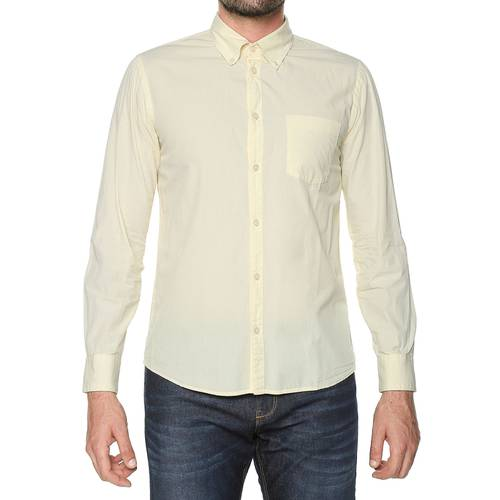 Camisa Manga Larga - Amarillo