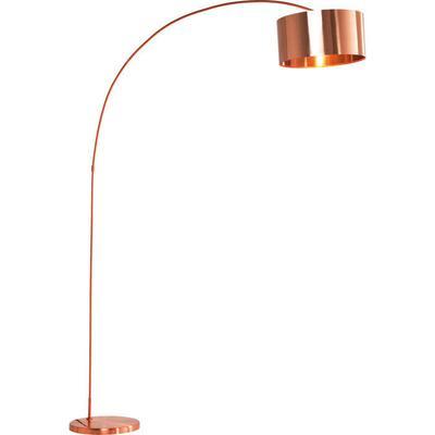 Lámpara pie Gooseneck cobre