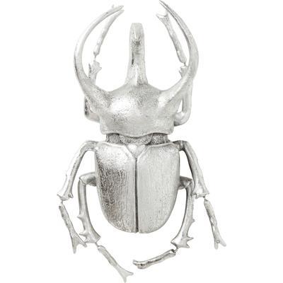 Decoración pared Atlas Beetle plata