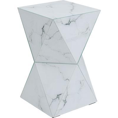 Mesa auxiliar Luxury Triangle Marble