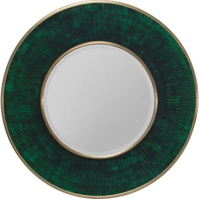 Espejo Lens verde Ø60