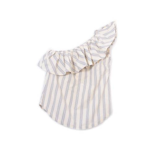 Camisa Color Siete para Mujer - Blanco
