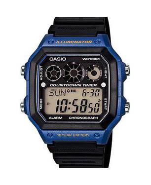 Reloj Análogo Negro -2Av - Casio