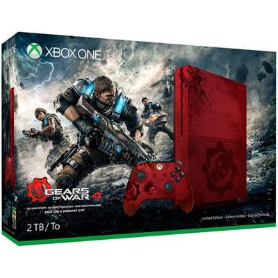 Xbox One S 2TB Edicion Limitada Gears of War 4